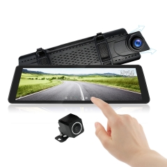 Rearview Mirror With Dual Lens 1080P Dash Camera | 9.88