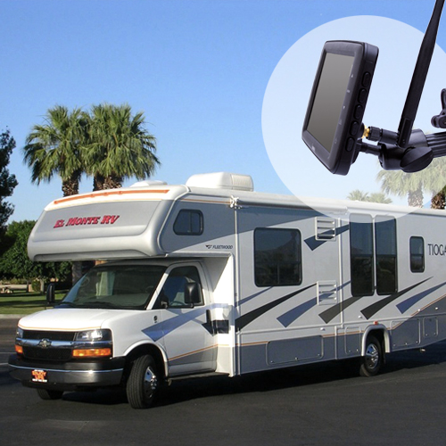 We Are Going to Travel The Country With Yuwei Wireless Backup Camera System In Jayco