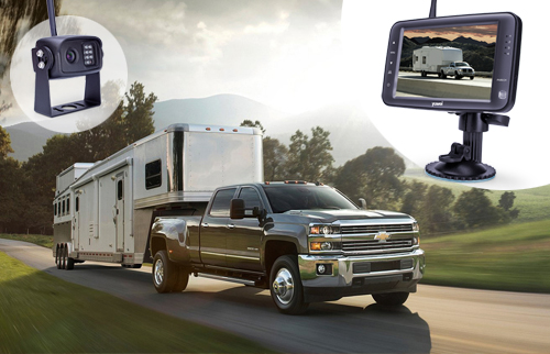 We Are Going to Travel The Country With Yuwei Wireless Backup Camera System In Jayco - By Bobs