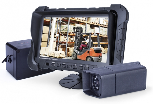 Professional Wireless ForkLift Camera System for Industrial Use, 12V Battery Operated