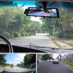 5inch Rearview Mirror With Dual Lens Recorder