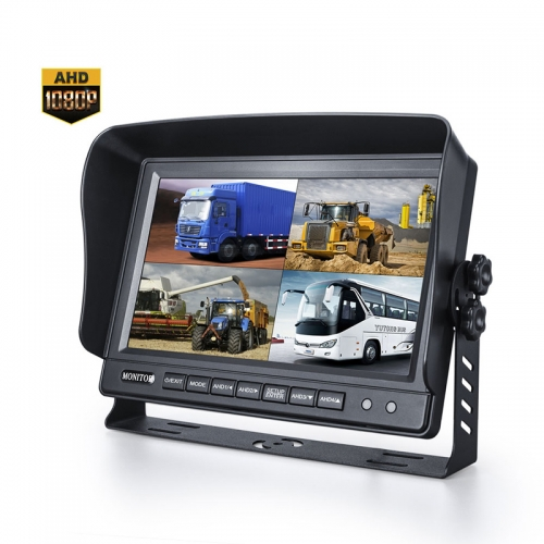 "AHD 1080P 9"" Rearview Monitor"