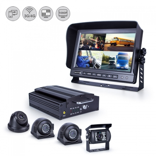 Mobile DVR with GPS Tracking and Live Remote Viewing