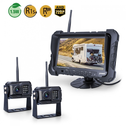 7 Inch HD 720P Digital Wireless Backup Camera System